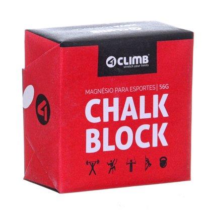 Bloco de Magnésio Chalk Block Crossfit 4 Climb 8 Blocos 56g