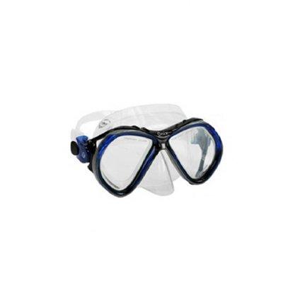 Mascara De Silicone Onix 02 Lentes Azul De Ajuste Fun Dive