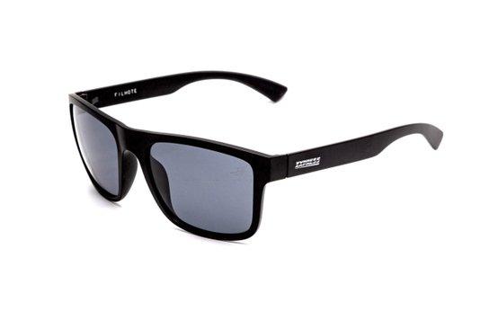 Óculos Sol Polarizado Express Filhote Preto + Estojo Couro