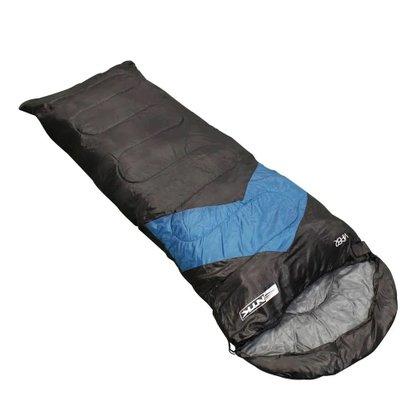 Saco de Dormir Nautika Viper 5 a 12 Graus Azul e Preto