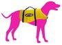 Colete Ativa Pet Dog GG acima de 36kg Amarelo