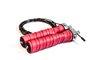 Corda de Pular BoxPt Profissional Crossfit 2 Rolamentos Vermelha