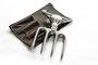 Garfo SG Bad Bull 4 Dentes Aluminio com Bainha Churrasco