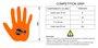 Luva Hand Grip Competition Skyhill Crossfit Rafa Kilipper Preto